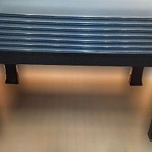 二手家具 台中 樂居全新中古傢俱批發 A1106CJJH 黑色玻璃餐桌 二手桌椅 辦公桌 電腦桌書桌 台北桃園台中新竹
