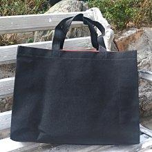 現貨新款黑 不織布袋 每個7元滿1000免運 精美紙袋 購物袋 服飾袋 手提袋35*10*25cm每包50個350元