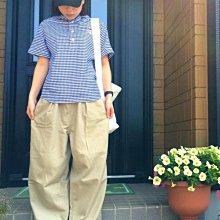 山東:Vincent et Mireille インナーダウン ジャケ /法式女孩藍調格紋小童襯衫 180615