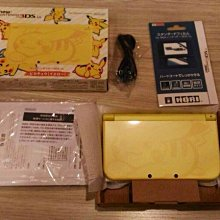 NEW 3DSLL 皮卡丘 3DS 皮卡丘 主機 黃 神奇寶貝 日月 太陽 月亮 送保護貼 充電售