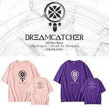 Dreamcatcher六專輯周邊同款純棉圓領短袖T
