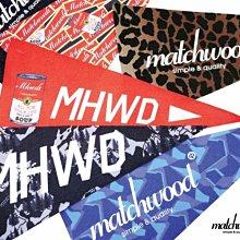 【Matchwood直營】Matchwood 15s Pennant 美式三角旗 掛飾六張一組 生活單品 居家空間佈置