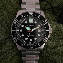 【金台鐘錶】CITIZEN 星辰 (水鬼) 潛水機械錶 時尚男錶 100米防水 43mm NJ0120-81E
