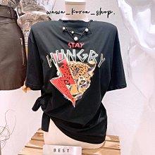 正韓:花豹🐆短袖T恤(3色)
