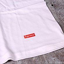 【HYDRA】Supreme Hanes Tee 白 S M L 單件賣場 素T 純棉 Box Logo【SUP048】