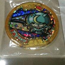 BANDAI 妖怪手錶--妖怪徽章-傳奇妖怪-武士喵-稀有限定特別版(中文版-白色手錶)-台版