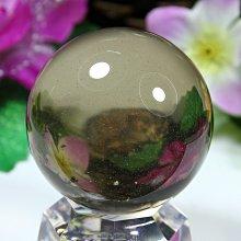 孟宸水晶 = A9050  (100%天然超清透綠幽茶水晶球211克)