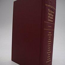 【月界二手書】The Norton Anthology of English Literature-1〖大學文學〗AKX