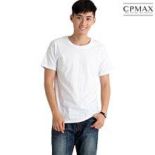 CPMAX 高磅純棉短袖白T恤 大尺碼T恤 百搭夏天必備單品 短袖上衣 短袖T恤 純棉上衣 純棉T 純棉白T T136