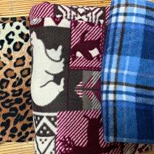 【零料布出清】絨毛彈性布(保暖)/布料/零料/毛料/伸縮布/波西米亞風/豹紋/藍格子