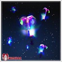 【10品禮品】B1661 LED彈射高空發光竹蜻蜓/夜市熱賣LED高空竹蜻蜓/LED發光飛碟/彈力飛箭