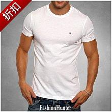 折扣【FH.cc】Tommy 素t 短袖T恤 白 刺繡Logo 領口內側撞色加強條 另有 Timberland A&F