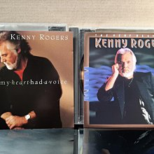 Kenny Rogers~If Olny My Heart Had A Voice & The Very Best Of,肯尼羅吉斯~曾有的心聲&精選輯。