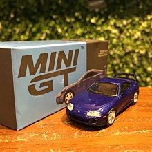 1/64 MiniGT Toyota Supra (JZA80) Blue MGT00211【MGM】