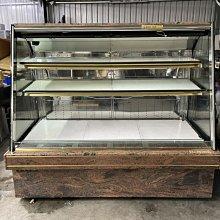 達慶餐飲設備 八里展示倉庫 二手商品 六尺開放式冷藏蛋糕櫃