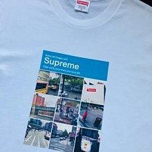 全新正品 Supreme 2020FW Week1 Verify Tee 九宮格衛星街景圖 短袖