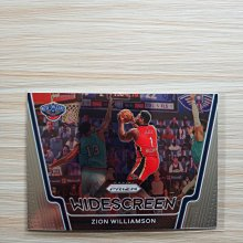 Zion Williamson 胖虎 2020-21 Prizm Widescreen 特卡~第二年喔~(T)