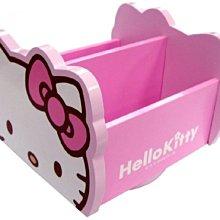 GIFT41 土城店 市伊瓏屋 凱蒂貓 HELLO KITTY 旋轉收納盒 - 粉紅 KT-0390