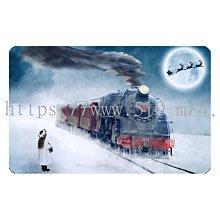〈亮晶細沙 卡貼 貼紙〉北極列車 聖誕節 北極 麋鹿 christmas  貼紙 悠遊卡貼紙
