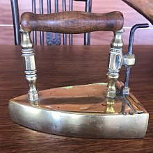 德國 古董 銅製 熨斗