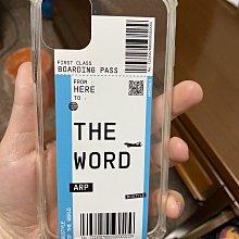 轉賣近全新 護照票卡行李吊牌硬殼透明手機殼 (IPHONE 11適用)