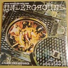 (現貨,全新未拆,歐版)黑膠唱片LP-地下社會電影原聲帶Underground soundtrack,坎城影展金棕櫚獎