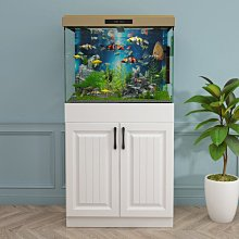 (台灣)索蘭帝魚缸底柜底座非實木架子歐式隔斷柜子家用承重仿ada80定做