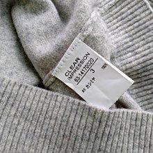 日本專櫃品牌 CLEAR IMPRESSION  100%CASHMERE 喀什米爾 羊絨 短袖上衣