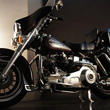 GK代工  TAMIYA 1/6 機車模型 HARLEY-DAVIDSON FLH BLACK VERSION