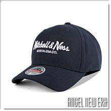 【ANGEL NEW ERA】Mitchell & Ness MN 經典排字 丈青色 老帽 有彈性 可調式 街頭 潮流
