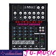 造韻樂器音響- JU-MUSIC - 美國 MACKIE MIX8 八軌 混音器 MIXER