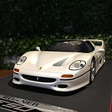 1/18 Runner Ferrari F50 Pearl White ZD1811WH【MGM】