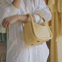 歐美火紅明星同款Boyy真皮手提包小包餛飩包有附背帶 檸檬黃色 黑色 藍色 橘色 白色 現貨