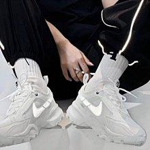 新款NIKE TC 7900  厚底 舒適 簡約 反光 老爹鞋 白色 休閒 運動男女鞋 孫芸芸 DD9682-100