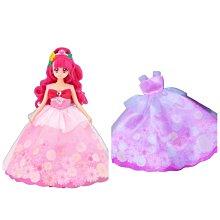 特價 正版 元氣魔法♥光之美少女 莉卡 小布 服裝 粉色 花朵 禮服 婚紗 裙子