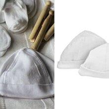 Ginny媽咪【mothercare】英國原裝全新正品純白純棉嬰兒帽兩件組新生兒必備0-3M~現貨