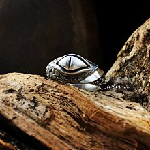 品牌作品【伏之目】925純銀戒指(眼睛/蛇紋/鱗片/爬蟲類/飛禽鳥類)【Ewin創物】