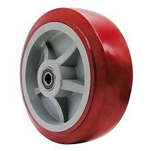 『鑫盛五金』6寸聚氨酯萬向輪4寸5寸8寸手推車平板車腳輪PU輪轱轆重型工業輪子#傢俱滑輪 #量大從優