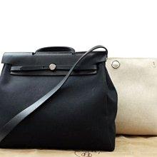 Hermès Herbag Black 2way 黑色