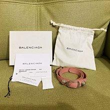 降價囉!Balenciaga機車包手環,超美粉色保證真品