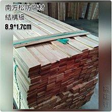網建行® 南方松防腐材 【寬8.9cmX厚1.7cm 每尺20元】壁板 木材 DIY 圍籬 木板 另有各種規格南方松