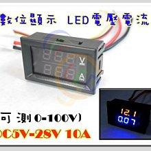 ?12小時出貨? LED 電流錶 電壓錶 LED電壓 直流電壓錶 LED電瓶顯示 C929  LED 電壓電流錶