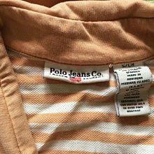 *衣服買二送一*Polo jeans co 條紋短袖T恤 size s