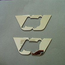 MS. TOYOTA.豐田.WISH.ALTIS.CAMRY VIOS .側燈日規鏡面框~以上車種都適用.不銹鋼材質