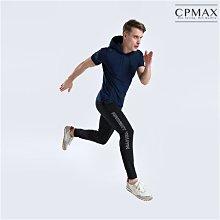 CPMAX 速乾透氣連帽短袖健身服 訓練服 跑步服 運動上衣 慢跑上衣 健身 籃球 網球 多功能上衣 健身服 T163