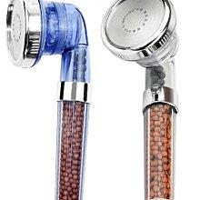 【用心的店】三擋負離子花灑噴頭廠家直銷增壓節水多功能手持過濾水療花灑噴頭