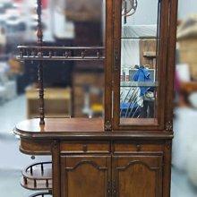 台中二手家具買賣 推薦西屯樂居(北)中古傢俱館A113011*屏風木櫃* 二手中古 展示櫃 屏風 造型隔間櫃 收納櫃