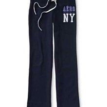 暖!美國Aeropostale 女裝NY classic Fleece sweat pants XS號厚刷毛運動居家休閒褲含運