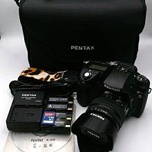 * 中階* PENTAX  K10D + DA 18-55mm 鏡頭 + 原廠相機包 - 快門數-110xx