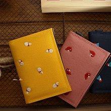 京都【にっぽんCHACHACHA】 藍富士/黃葫蘆/桃魚刺繡系列 識別證 悠遊卡 卡片夾